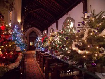 Christmas Tree Festival St Luke's Church Maidenhead 6th – 8th December 2019